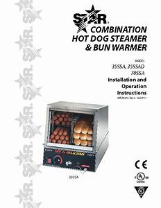 Star 35ssa Stainless Steel 170 Capacity Hot Dog Electric