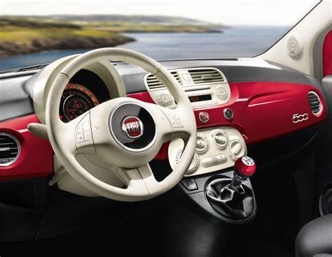 Interni Fiat 500 - fiat 500 happy birthday interni guida shop