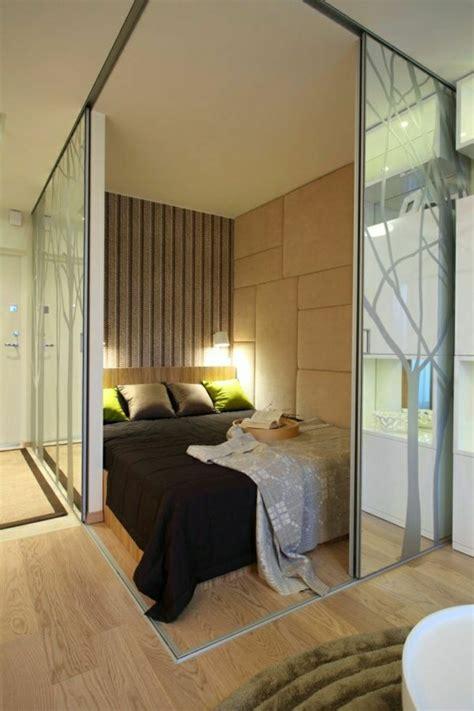 chambre à coucher originale la porte coulissante en 43 variantes magnifiques