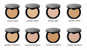 Glo Minerals Color Chart Pressed Base Sample Set Glo Minerals Skincare By Alana