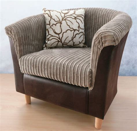 Tub Chair by Luxury Brown Snake Camel Cord Tub Chair Armchair