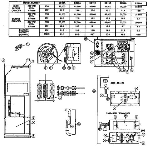 Evcon Air Conditioner Wiring Diagram by Coleman Evcon Ind Furnace Parts Model Eb10a Sears