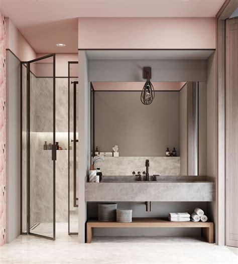 Badezimmer Modern Beton by Badezimmer Rose Modern Beton Christoph Baum Www Stil