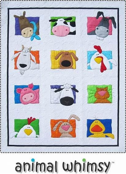 Quilt Animal Patterns Farm Applique Quilts Quilting