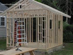 custom design shed plans 10x20 large saltbox diy detailed shed blueprints cd ebay