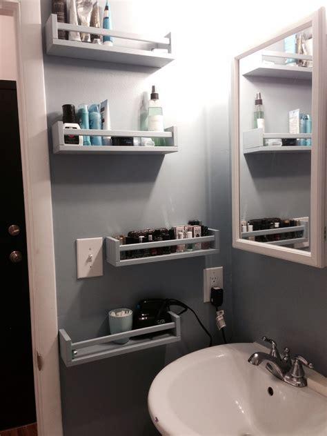 ikea bekvam spice racks  bathroom storage apt