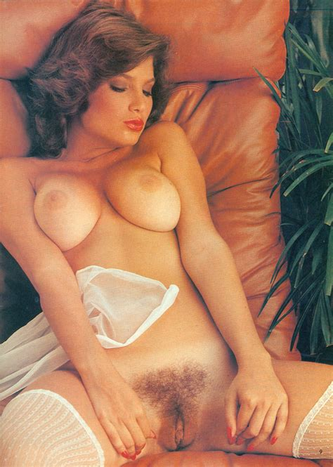 vintage hairy centerfold pussy