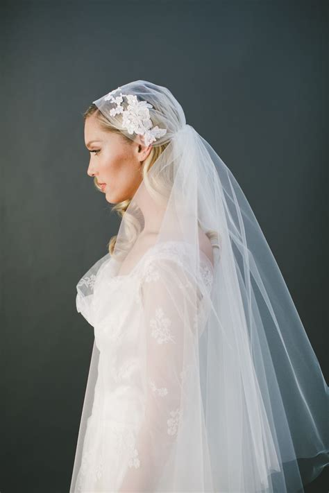 Juliet Cap Veils Handmade Custom Wedding Veils And