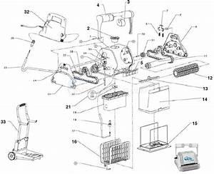 Maytronics Dolphin Pro Parts