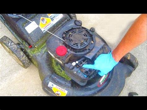 lawn mower repair auto choke briggs  stratton sears