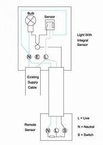 Wiring Diagram Pir Light Switch