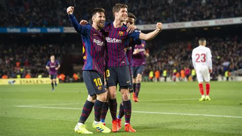 We link to the best barça sources from around the world. Barça 6 - 1 Sevilla: What a Cup-back!