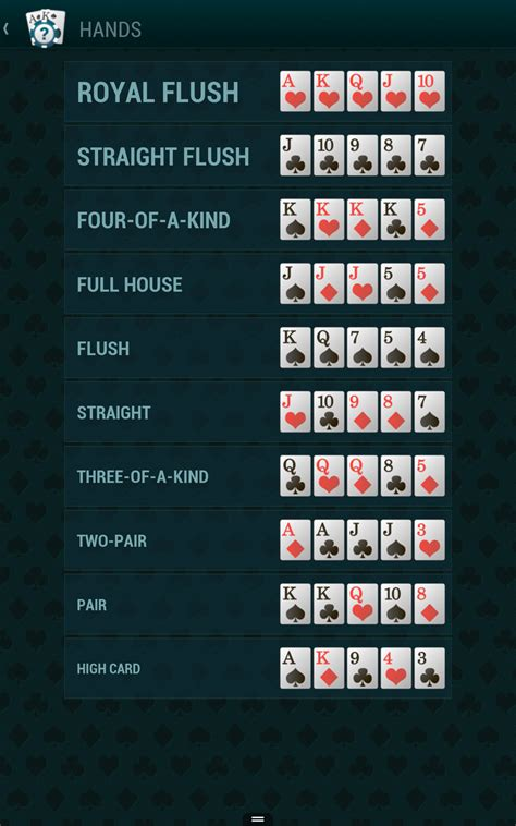 poker anleitung hd poker guide hd amazonde apps fuer