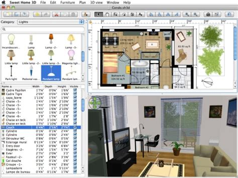 Sweet Home 3d Jouer Gratuitement : Download For Windows