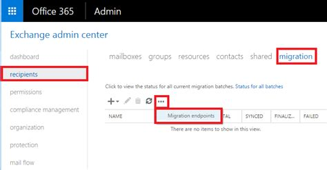 Office 365 Portal Not Showing by How To Perform A Cutover Migration To Office 365 Itpromentor