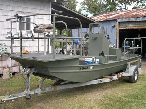 Fishing Boat Modifications by The Jon Boat King Of Jon Boat Mods Mod