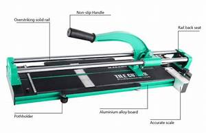 39 U0026quot  Manual Tile Cutter Cutting Machine1000mm Precise