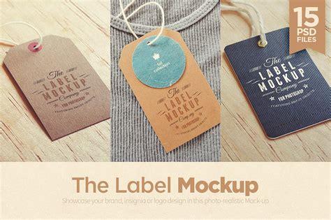 tags labels logo mockup mockup templates creative market