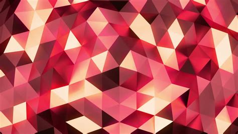 Abstract Geometric Shapes Pattern by Triangles Animation Retro Pattern Of Geometric