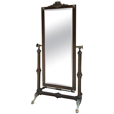 floor mirror new york glo mar artworks brass cheval mirror for sale at 1stdibs