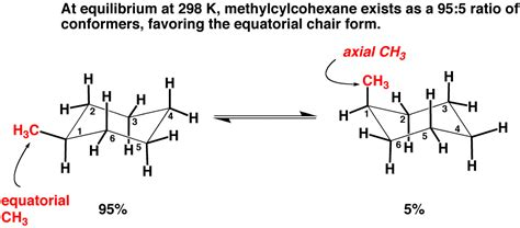 substituted cyclohexanes equatorial vs axial master