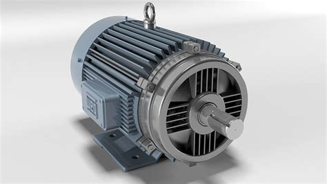 Electric Motor Model by Electric Motor 3d Model Cgtrader