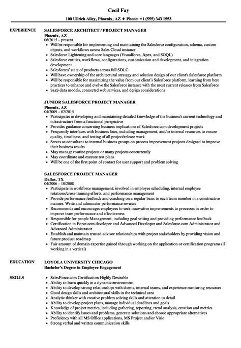 Salesforce Cpq Developer Resume | TUTORE.ORG - Master of Documents