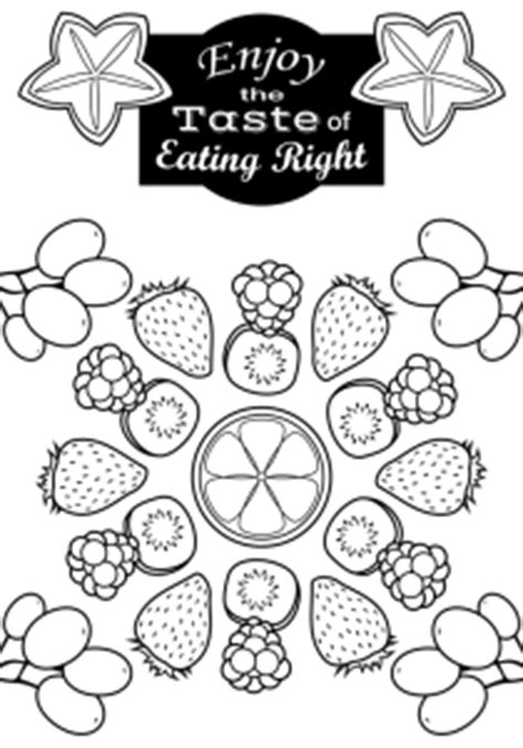 national nutrition month coloring pages coloring page