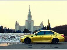 Golden Cars In The Streets Of Moscow English Russia