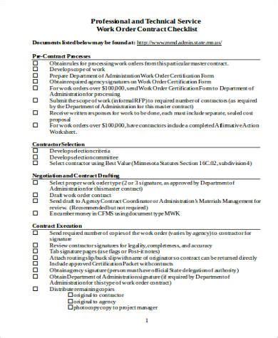 work order form samples  ms word