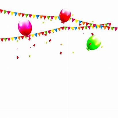 Birthday Celebration Background Party Searchpng March Confetti