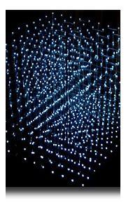 Present Tense Memphis - James Clar - 3D Display Cube