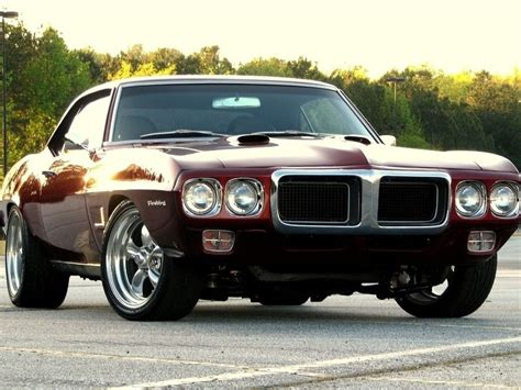 1969 Pontiac Firebird Cars Muscle Wallpaper