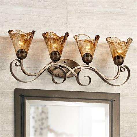 Bronze Bathroom Lighting Fixtures by Bronze Bathroom Lighting Fixtures Ls Plus