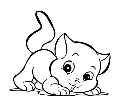 dibujos de gatos  colorear  imprimir imagui