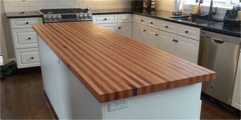 Oak Kitchen Island - counter tops islands tree purposed detroit michigan live edge slabs reclaimed wood