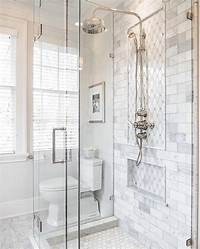 marble tile bathroom 17 Gorgeous Bathrooms With Marble Tile