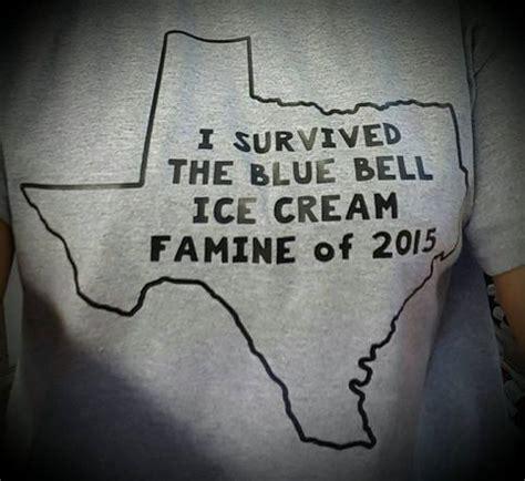 survived  blue bell famine   shirt gray shirt