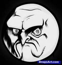 How to Draw Rage Face