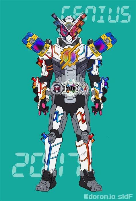 kamen rider zi  build genius armor kamen rider series