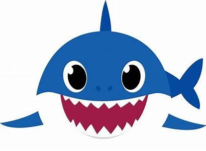 Shark Clipart Transparent Mama Azul Daddy Svg