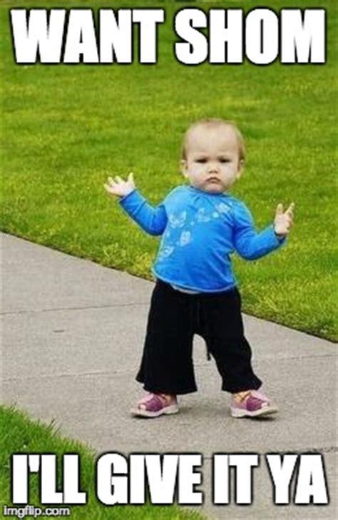 Gangster Baby Meme - gangsta baby imgflip
