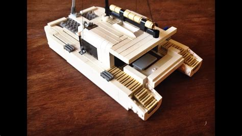 Boat Catamaran Lego lego boat moc catamaran sailboat