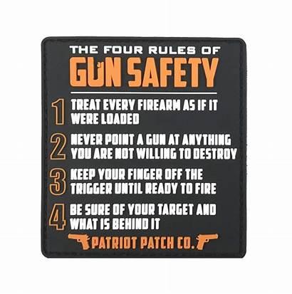 Gun Rules Safety Patch Order Saftey