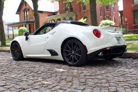 Fiat Alfa Romeo 4c 2016 alfa romeo 4c spider fiat chrysler authority garage
