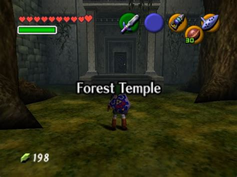 The Zelda Realm Ocarina Of Time Temple Theories