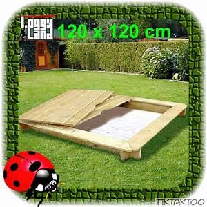 Rolladenkasten Abdeckung Holz : sandkasten moritz 120x120cm aus holz fertig lasiert sandkiste sandbox sand ebay ~ Yasmunasinghe.com Haus und Dekorationen