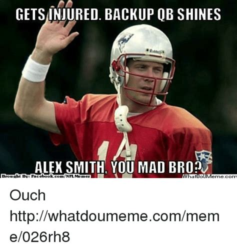 Alex Smith Meme - 25 best memes about mad and nfl mad and nfl memes