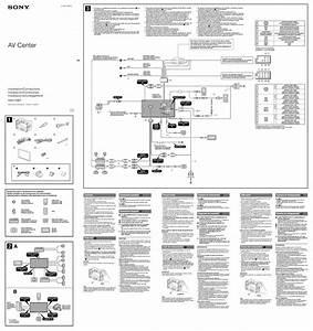 Sony Xav 70bt Wiring Diagram
