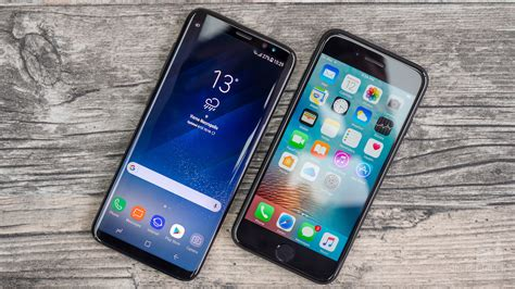 samsung galaxy s8 vs apple iphone 7 call quality
